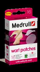Medrull Wart Patches syylälaastari 16 kpl
