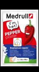 Medrull Pepper Plaster 6x10 cm pippurilaastari 1 kpl