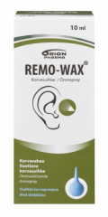 REMO-WAX KORVASUIHKE + PUMPPU 10 ML