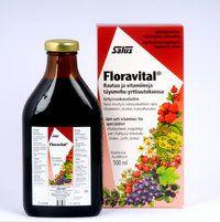 SALUS FLORAVITAL NESTEMÄINEN RAUTAVALMISTE X500 ML