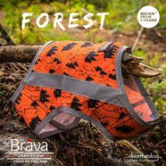 FOREST huomioliivi koiralle S oranssi