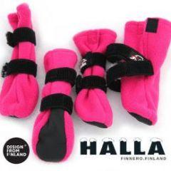 HALLA-tossut pinkki koko XS
